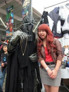 Sauron! Amazing costume!