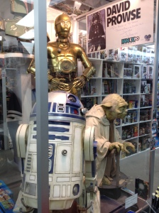 They have a signed picture from David Prowse in there!