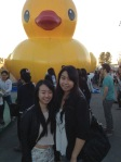 The big inflatable duck