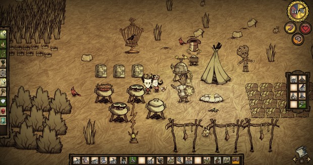 Us in Don't Starve!