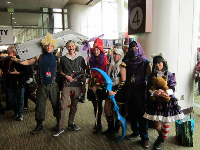 league group cosplay