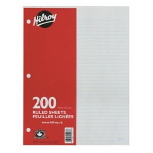 hilroy paper