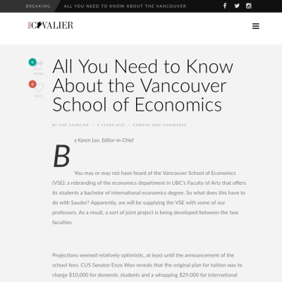Vancouver School of Economics