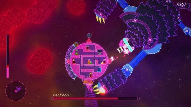 lovers in a dangerous spacetime ursa major boss battle