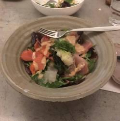 sashimi salad torafuku