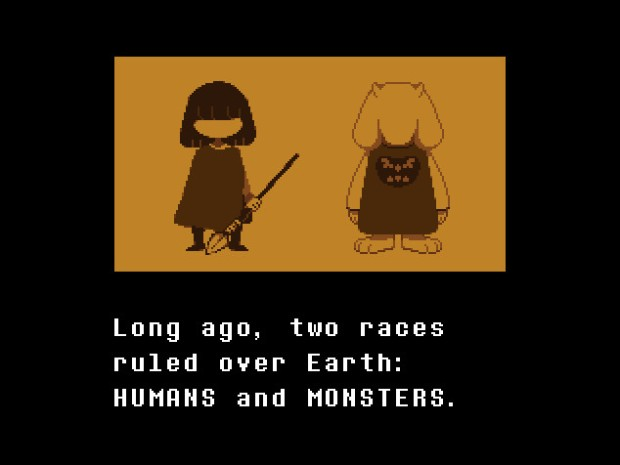 undertale beginning